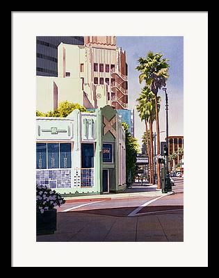 Beverly Hills Framed Prints