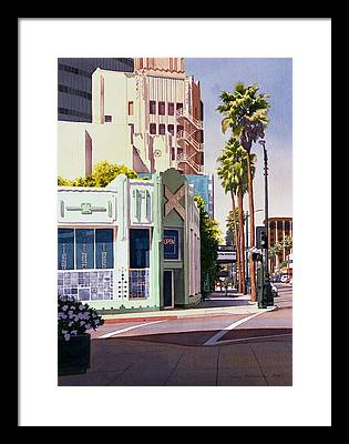 Los Angeles Framed Prints