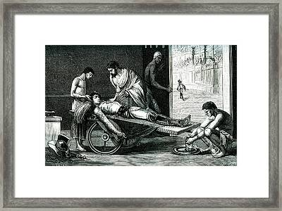 Galen Framed Print by Collection Abecasis