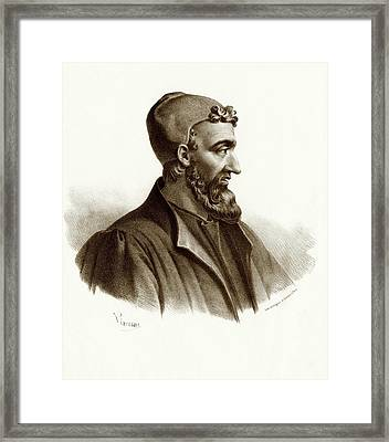 Galen Framed Print by National Library Of Medicine