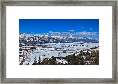 Galena Valley Framed Print