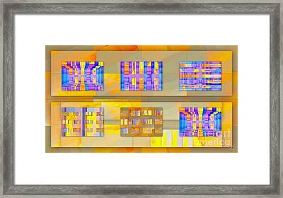 Galeria Magica Framed Print by Halina Nechyporuk