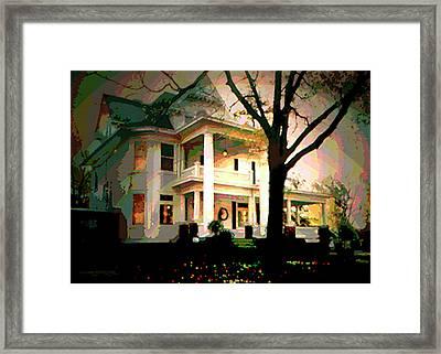 Galesburg House Framed Print