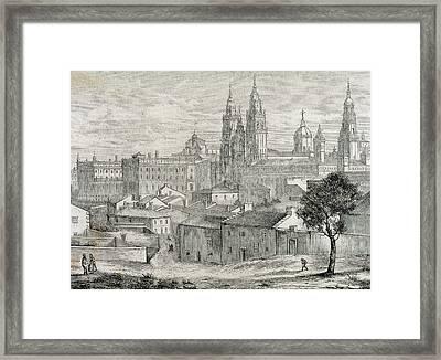 Galicia Santiago De Compostela Province Framed Print by Prisma Archivo