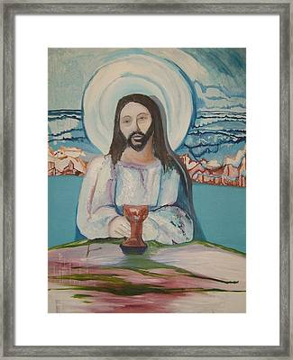 Galilee Framed Print by Mark Greenhalgh