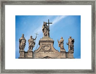 Galilei Alessandro, Castelli Francesco Framed Print