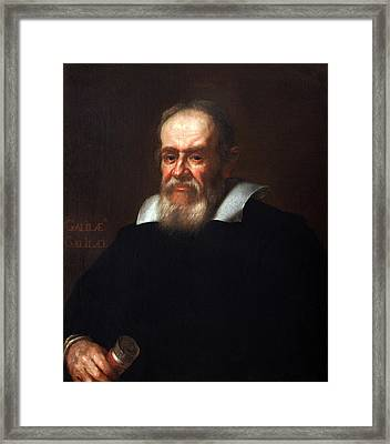 Galileo Galilei After Justus Sustermans Framed Print