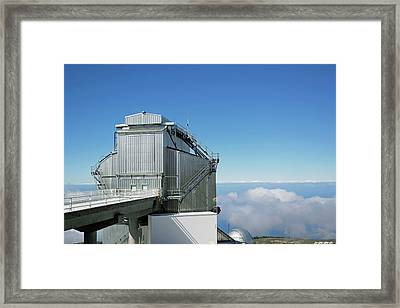 Galileo National Telescope Framed Print