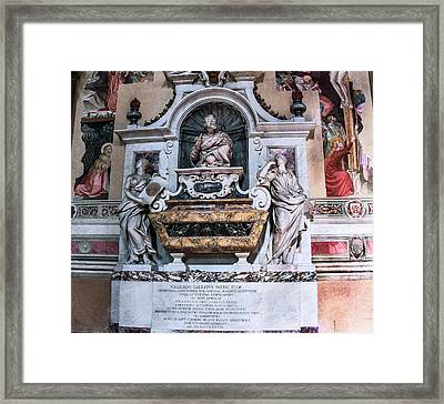 Galileo's Tomb Framed Print