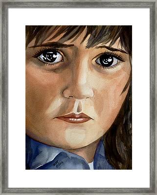 Galina Framed Print