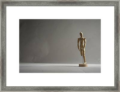Gallant Mannequin II Framed Print by Julian Riojas