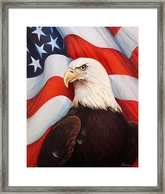 Gallantly Streaming-3 Framed Print by ArtLoft - Southern California