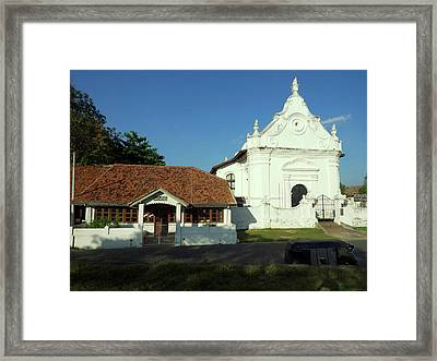 Galle Library 1832 Century Next Framed Print