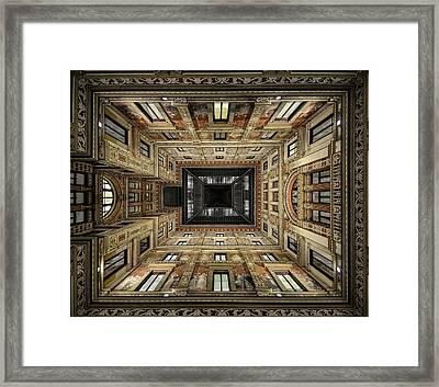 Galleria Sciarra Framed Print by Renate Reichert