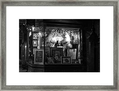 Gallery On Royal Street Framed Print by Greg Mimbs