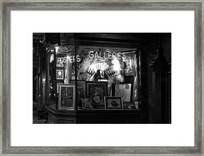 Gallery On Royal Street Framed Print