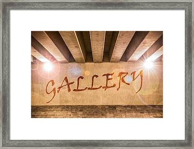 Gallery Framed Print