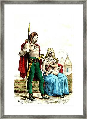 Gallic Family Framed Print by Collection Abecasis