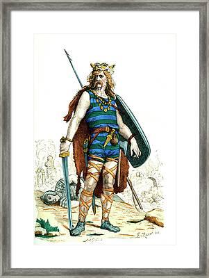 Gallic Warrior Framed Print