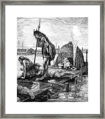 Gallic Water House Framed Print