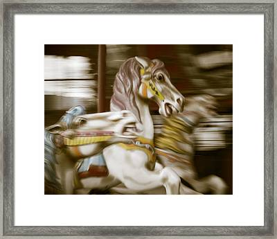 Gallop 1 Framed Print by Takeshi Okada