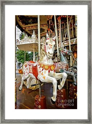 Galloper Framed Print
