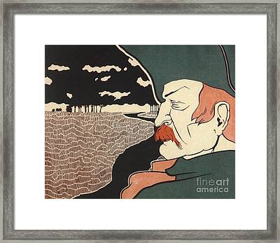 Galloping Dick Frank Hazenplug Framed Print by Unknown
