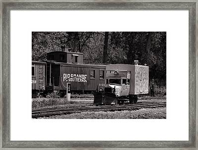 Galloping Home Toned Framed Print by Ken Smith