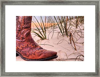 Galveston Island Framed Print by JC Findley