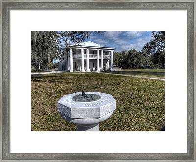 Gamble Mansion Framed Print by William Ragan
