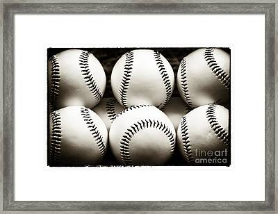 Game Balls Framed Print