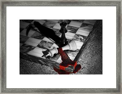 Game - Chess - Check Mate Framed Print