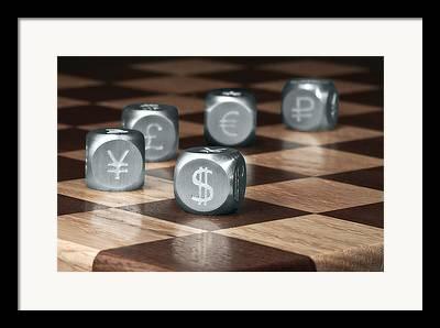 Chessboard Framed Prints