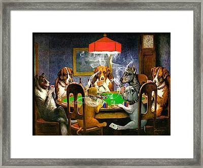 Game On 1 Framed Print