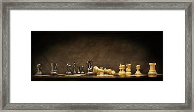 Game Over Framed Print by Don Hammond