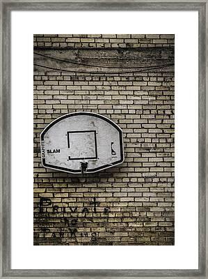 Game Over - Urban Messages Framed Print