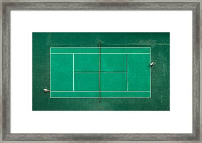 Game! Set! Match! Framed Print by Fegari