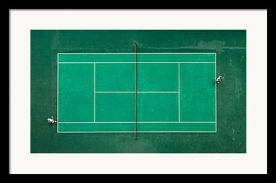 Ballgame Framed Prints