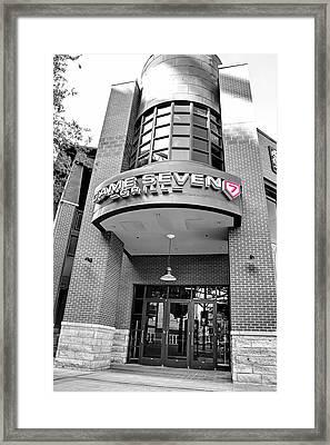 Game Seven Grill Framed Print