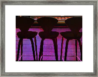 Game Table 2 Framed Print by Tammy Espino