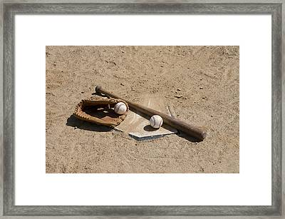Game Time Framed Print by Bill Cannon