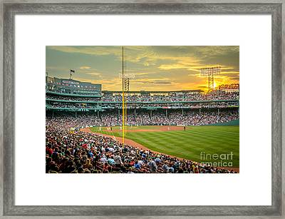 Fenway Park Framed Print by Mike Ste Marie