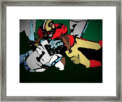 Game To Remember Framed Print by Andrew Drozdowicz