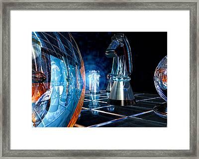Game Transparent  Framed Print by Bob Orsillo