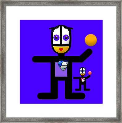 Night Games Framed Print by Charles Stuart