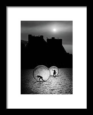 Sphere Framed Prints