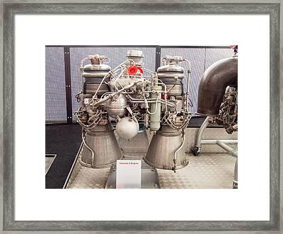 Gamma 2 Engine Framed Print by Ashley Cooper