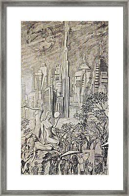 Gammora Framed Print