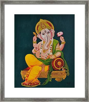 Ganapathi Framed Print