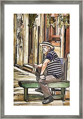 Gandolier Framed Print